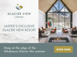Glacier View Lodge in Jasper