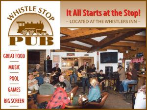 Whistle Stop Pub in Jasper