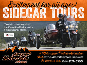 Jasper Motorcycle Tours in Jasper