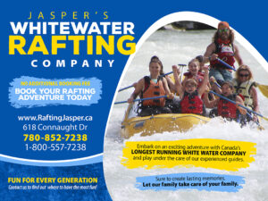 Jasper's Whitewater Rafting Co. in Jasper
