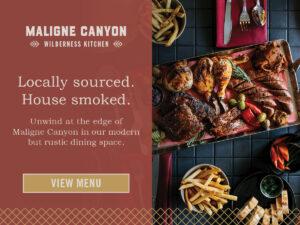 Maligne Canyon Wilderness Kitchen in Jasper